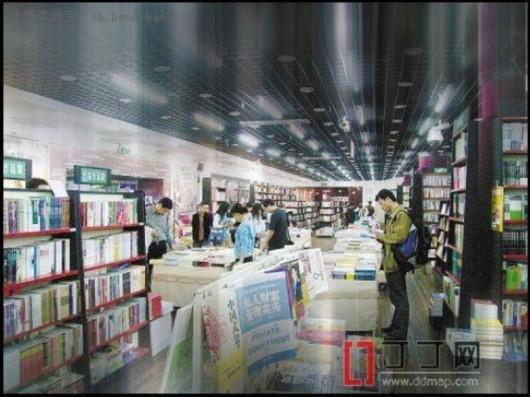 上海大众书局书香萦绕咖啡香