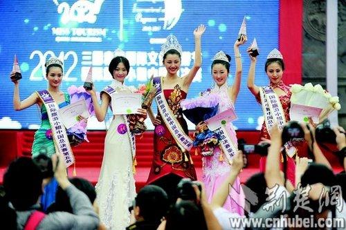 国际旅游小姐中国总决赛 19岁女大学生摘冠